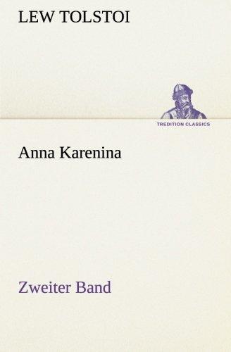 9783842421844: Anna Karenina - Zweiter Band
