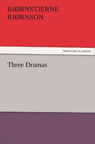 9783842432055: Three Dramas (TREDITION CLASSICS)