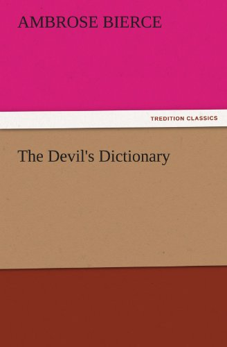 9783842439122: The Devil's Dictionary (TREDITION CLASSICS)