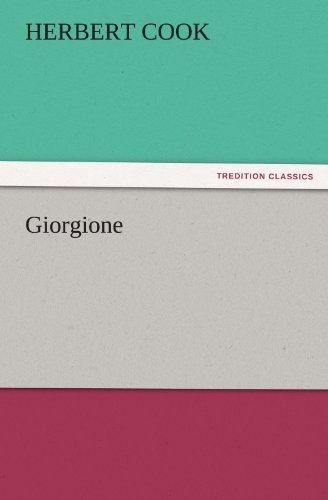 9783842445680: Giorgione (TREDITION CLASSICS)