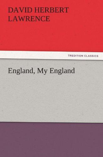 9783842466456: England, My England (TREDITION CLASSICS)