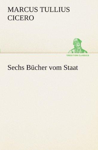 9783842469617: Sechs Bücher vom Staat (TREDITION CLASSICS) (German Edition)