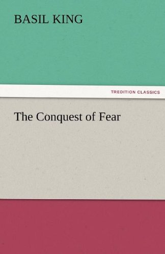 9783842473058: The Conquest of Fear