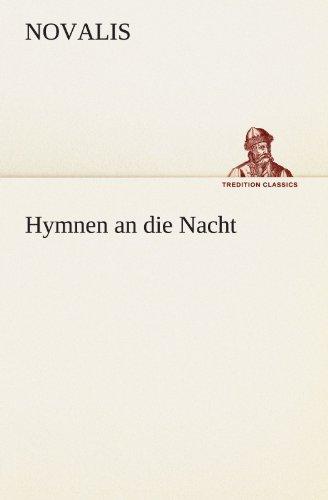 9783842492387: Hymnen an die Nacht (TREDITION CLASSICS)