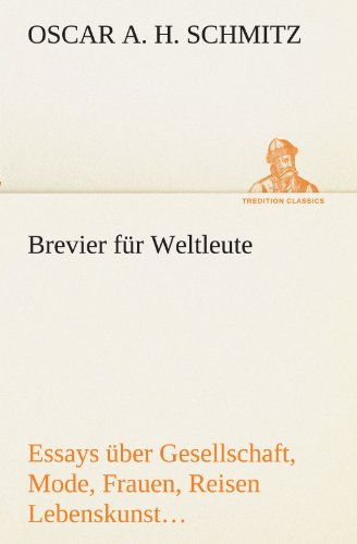 9783842493261: Brevier F R Weltleute (TREDITION CLASSICS)
