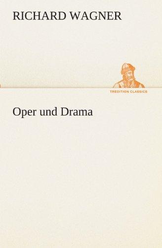 9783842494251: Oper und Drama (TREDITION CLASSICS) (German Edition)