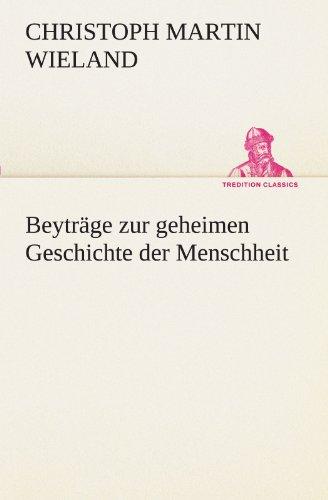 Beytr: Christoph Martin Wieland