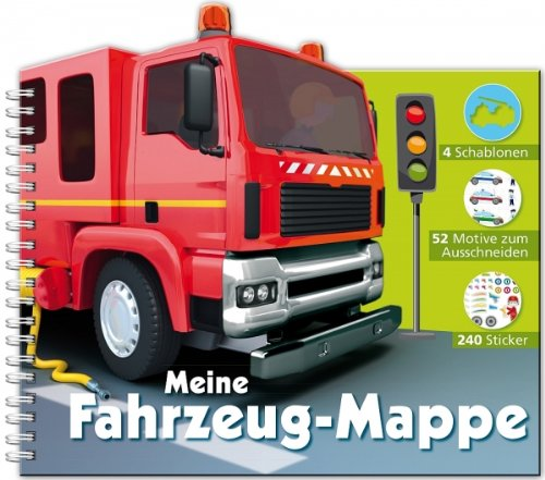 9783842706378: Kreativspa�: Meine Fahrzeug-Mappe
