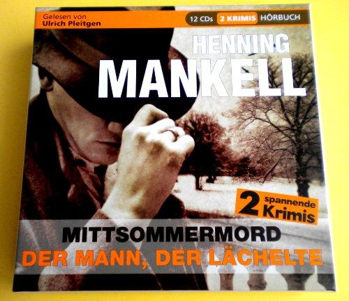 9783842707658: Hörbuch 2 Spannende Thriller * Mittsommermord * Der Mann, der Lächelte * von Henning Mankell