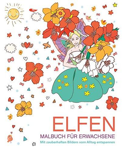 9783842712201: Malbuch für Erwachsene: Elfen