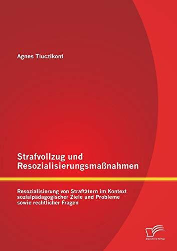 Strafvollzug Und Resozialisierungsmassnahmen: Resozialisierung Von Straftatern Im Kontext ...