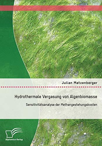 9783842871908: Hydrothermale Vergasung von Algenbiomasse: Sensitivitätsanalyse der Methangestehungskosten