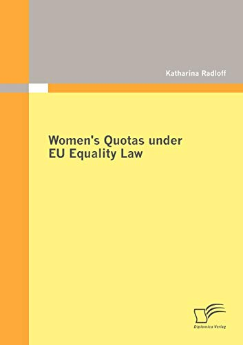 9783842872738: Women's Quotas under EU Equality Law