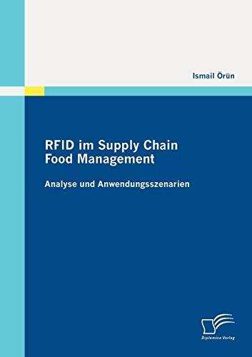 9783842872981: RFID im Supply Chain Food Management: Analyse und Anwendungsszenarien