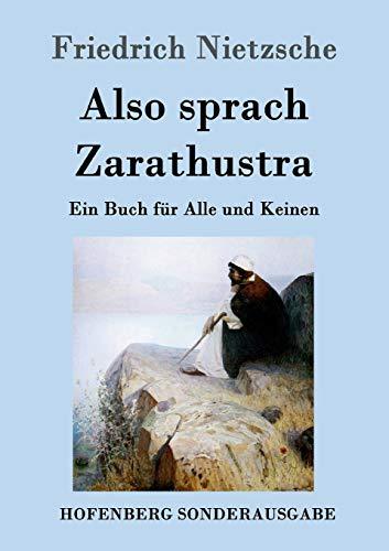 9783843015097: Also Sprach Zarathustra (German Edition)