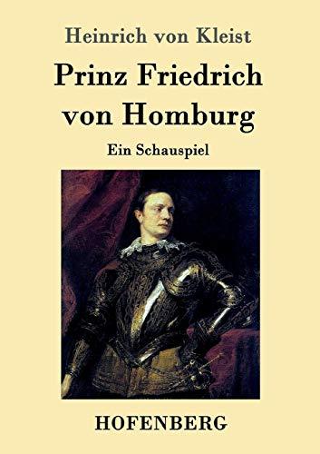 9783843016728: Prinz Friedrich von Homburg
