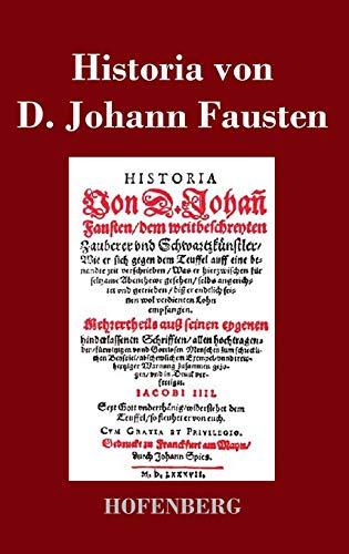 9783843018500: Historia von D. Johann Fausten (German Edition)