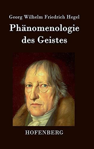 9783843021197: Phänomenologie des Geistes