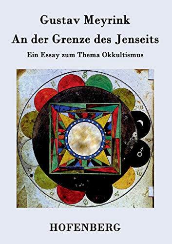 9783843026390: An Der Grenze Des Jenseits