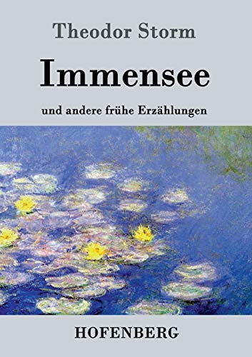 9783843028332: Immensee (German Edition)