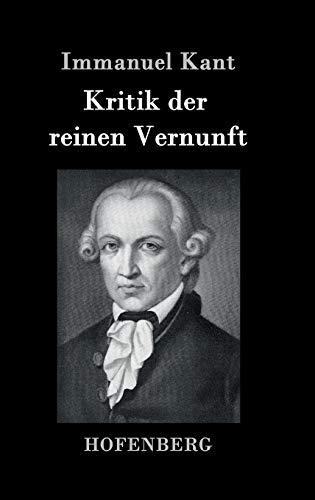 9783843030809: Kritik der reinen Vernunft (German Edition)