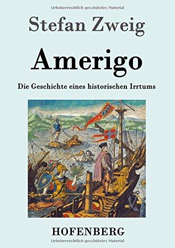9783843033176: Amerigo: Die Geschichte eines historischen Irrtums