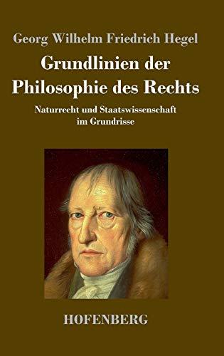 9783843034142: Grundlinien Der Philosophie Des Rechts