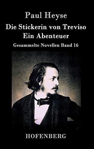 9783843035606: Die Stickerin von Treviso / Ein Abenteuer: Gesammelte Novellen Band 16