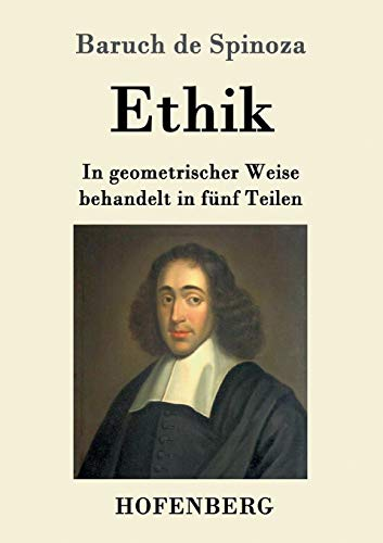 9783843036610 Ethik German Edition Abebooks Baruch De