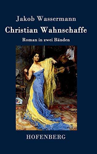 9783843038652: Christian Wahnschaffe: Roman in zwei Bänden