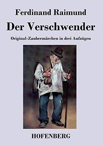 9783843041416: Der Verschwender (German Edition)