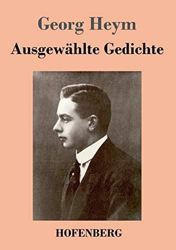 9783843045940: Ausgewählte Gedichte (German Edition)