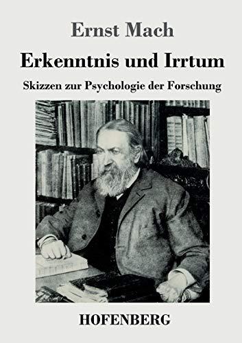 9783843046084: Erkenntnis und Irrtum (German Edition)