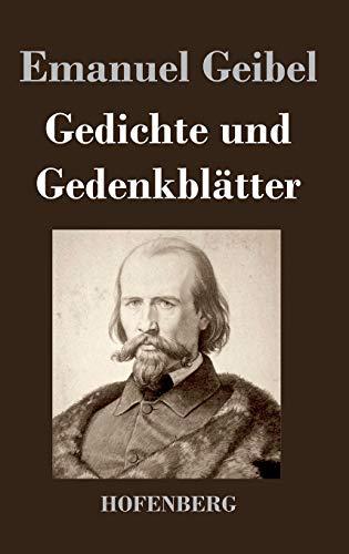 9783843048422: Gedichte und Gedenkblätter