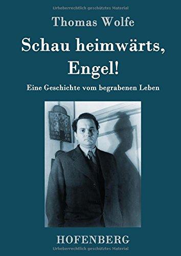 9783843051682: Schau heimwärts, Engel: Eine Geschichte vom begrabenen Leben