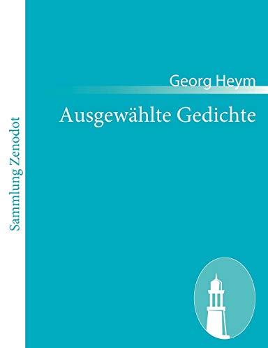 9783843055604: Ausgew Hlte Gedichte (German Edition)