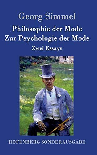 9783843062503: Philosophie der Mode / Zur Psychologie der Mode