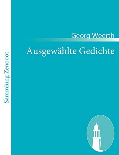 9783843063081: Ausgew Hlte Gedichte (German Edition)