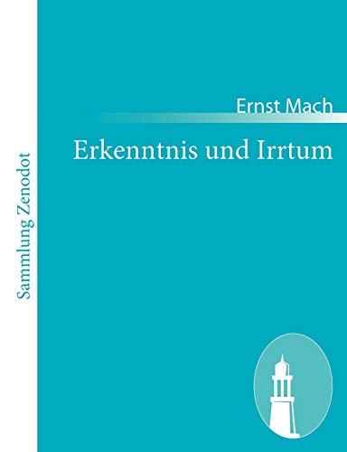 9783843065696: Erkenntnis und Irrtum (German Edition)