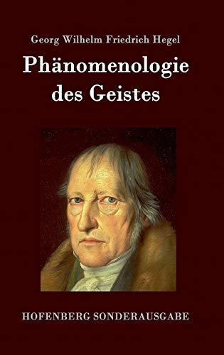 9783843075770: Phänomenologie des Geistes