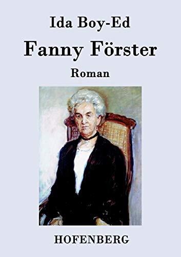 9783843079648: Fanny Förster