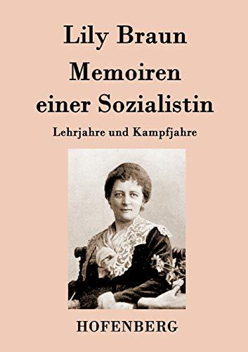 9783843079723: Memoiren einer Sozialistin (German Edition)