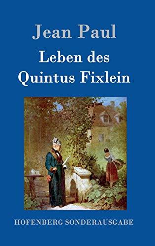 9783843081450: Leben des Quintus Fixlein