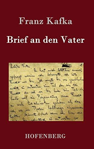 9783843095334: Brief an Den Vater