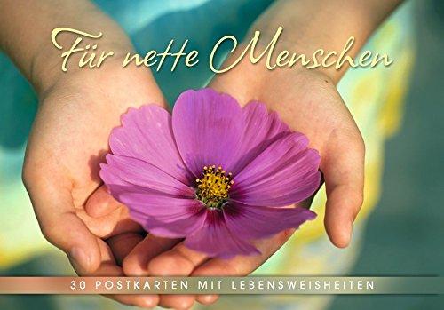 Für nette Menschen: Postkartenbuch