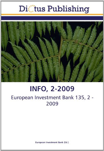 INFO, 2-2009 (3843340218) by European Investment Bank