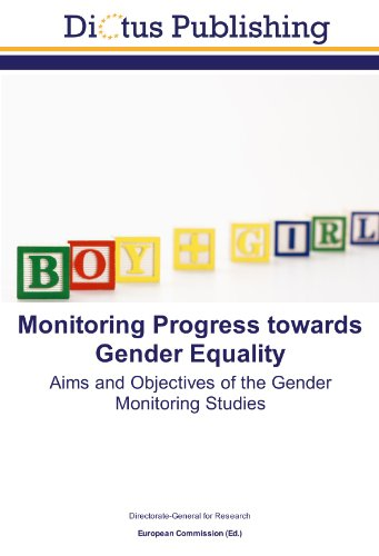9783843349369: Monitoring Progress towards Gender Equality: Aims and Objectives of the Gender Monitoring Studies