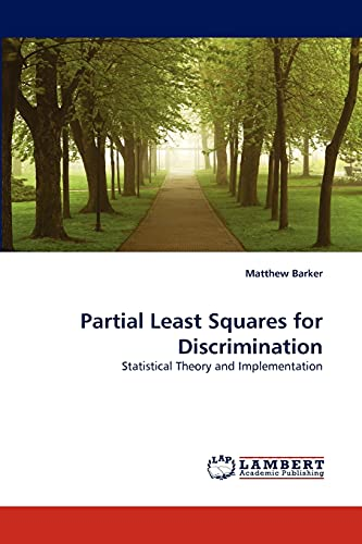 Partial Least Squares for Discrimination - Matthew Barker