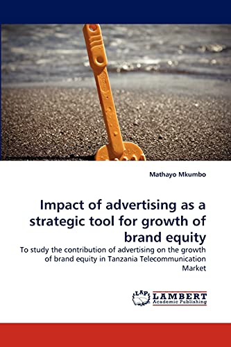 Impact of advertising as a strategic tool: Mkumbo, Mathayo