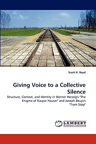 Giving Voice to a Collective Silence: Scott H. Boyd